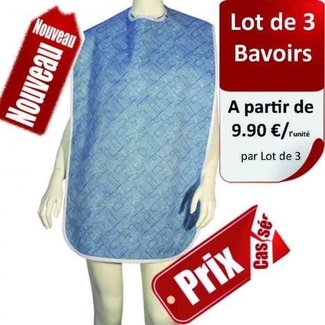 Bavoir Imprimé - Lot de 3