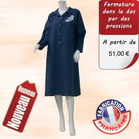 Robe Medic Creuse - Dos pressions