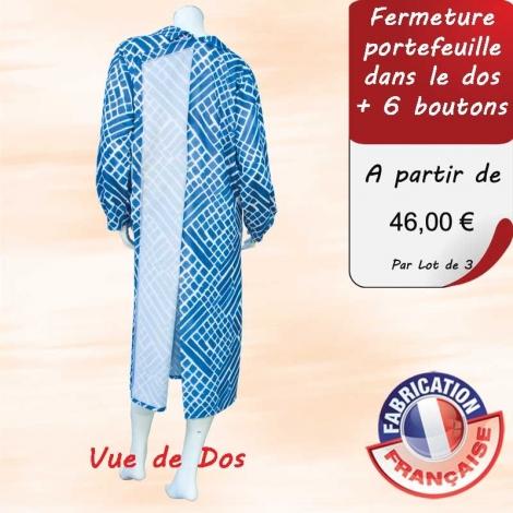 Robe Medic Clothilde - Portefeuille