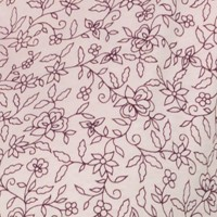 Rose Fleurs Prunes